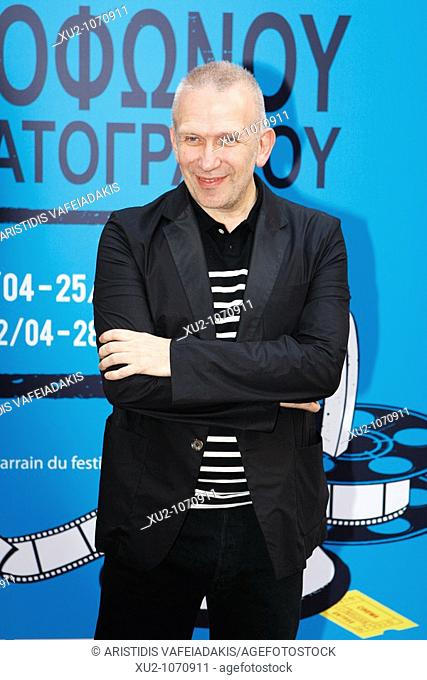 Jean-Paul Gaultier French fashion designer in Athens, Greece