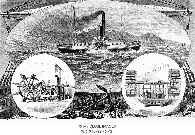 American engineer and inventor Robert Fulton (1765-1815) is usually credited with inventing the steamboat, but actually he was the one who first put the design...