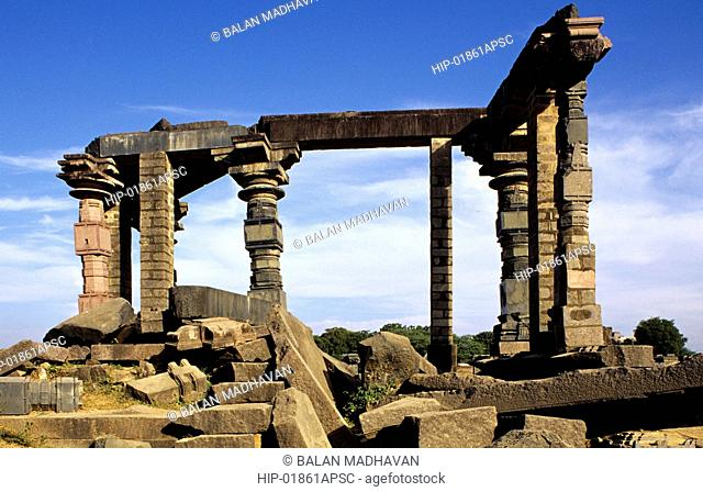 RUINS OF WARANGAL FORT, ANDHRA PRADESH,INDIA