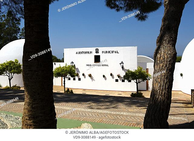 Typical white village of Mijas. Costa del Sol, Málaga province. Andalusia, Southern Spain Europe
