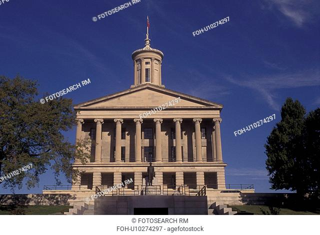 Nashville, TN, Tennessee, Tennessee State Capitol, State House