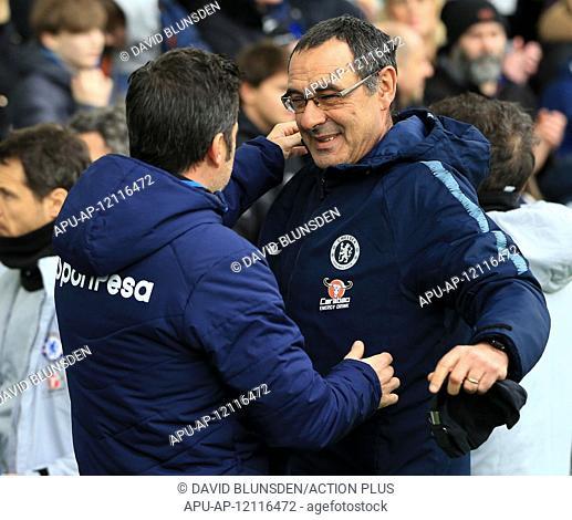2019 EPL Premier League Football Everton v Chelsea Mar 17th. 17th March 2019, Goodison Park, Liverpool, England; EPL Premier League Football