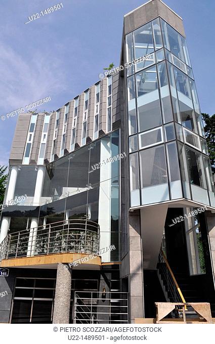 Seoul (South Korea): modern architecture along Samcheong-dong