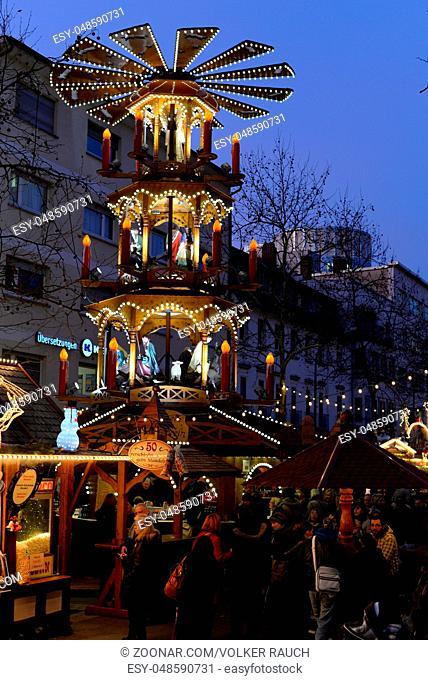 Offenbach Weihnachtsmarkt.Christmas Market At Marktplatz Stock Photos And Images Age Fotostock