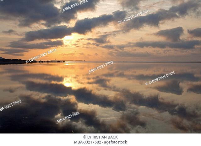 Italy, Sardinia, South coast, province Cagliari, Castiadas, Villasimius, morning mood