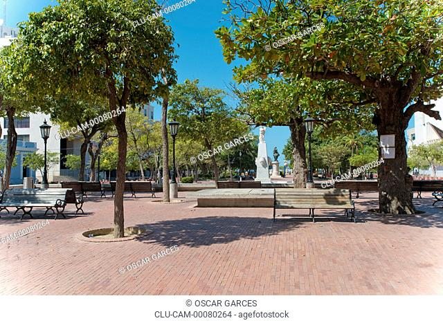 Simon Bolivar Park, Santa Marta, Magdalena, Colombia