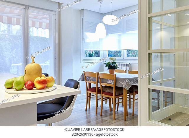 Dining Room, Kitchen, Interior decoration, Home