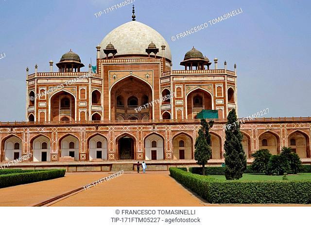 India, New Delhi, Humayun's tomb