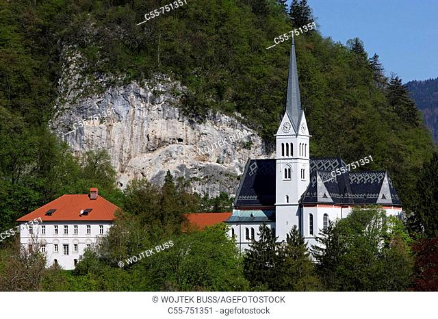 Church of St Martin, Bled, Slovenia