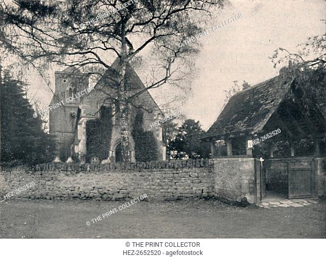 'Littlemore Church, near Oxford', 1904. From Social England, Volume VI, edited by H.D. Traill, D.C.L. and J. S. Mann, M.A