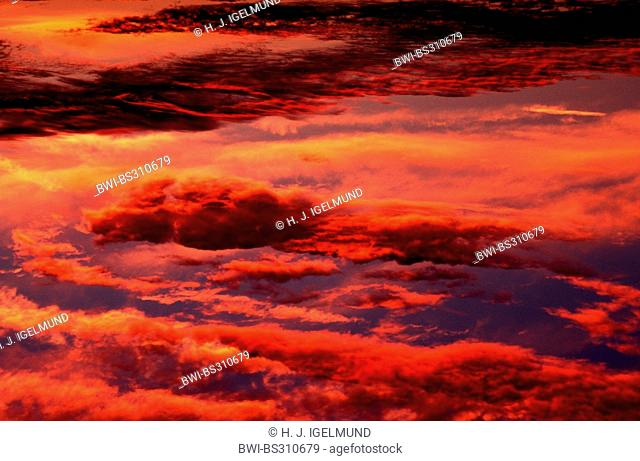 afterglow, Germany, Hesse