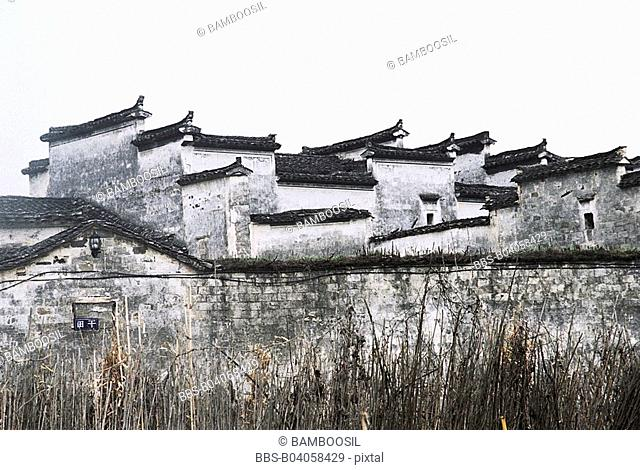 Anhui-style residences in Xidi Village, Yixian County, Anhui Province, People's Republic of China