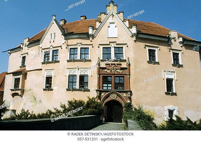 castle Vrchotovy Janovice, Central Bohemia, Czech Republic