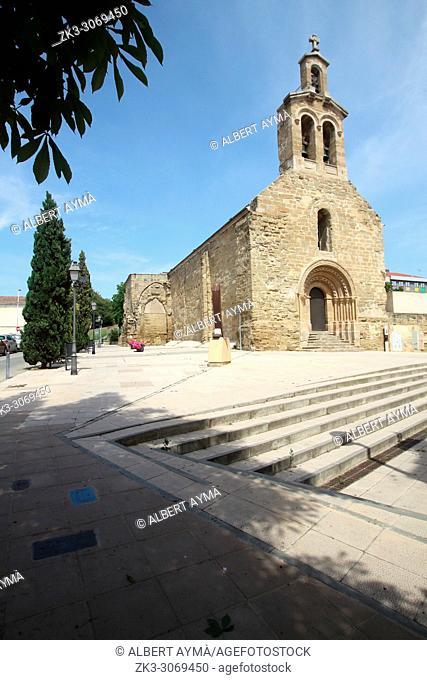 Església de Sant Martí (Church of St. Martin). Lleida, Catalonia, Spain
