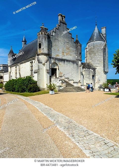 Saint-Ours Church, Logis Royal, Loches, Indre-et-Loire, France