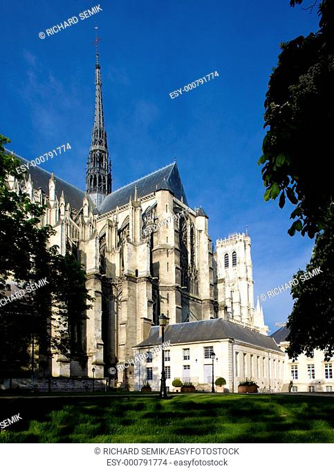 Cathedral Notre Dame, Amiens, Picardy, France