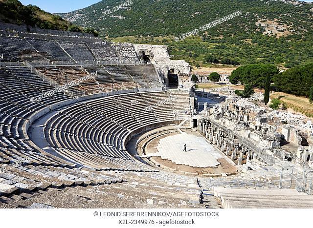 The Great Theatre. Ephesus Archaeological Site, Izmir province, Turkey
