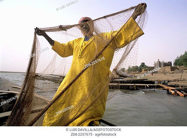 niger river fisherman.kagolodaga