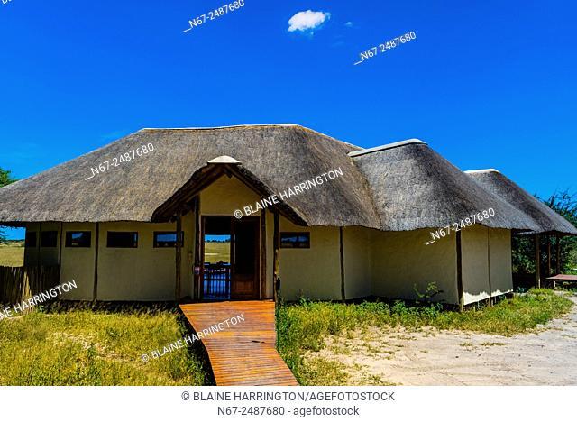 Nxai Pan Camp, Nxai Pan National Park, Botswana