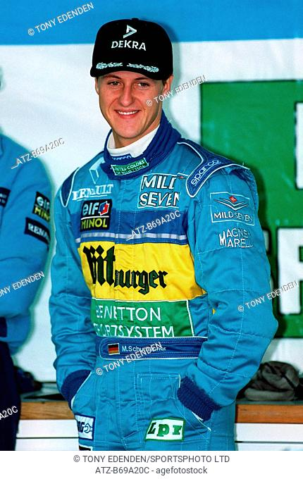 Michael Schumacher Benetton-Renault 09 March 1995 B69A20C Allstar Picture Library