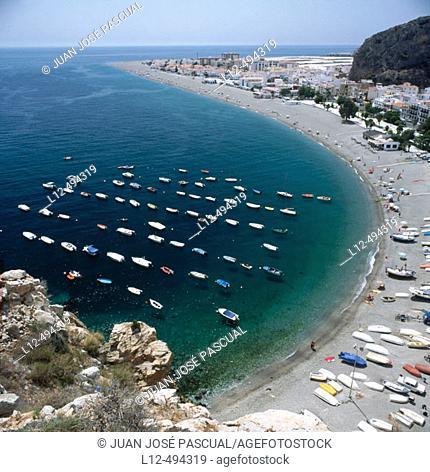 Calahonda beach. Granada province, Andalusia, Spain