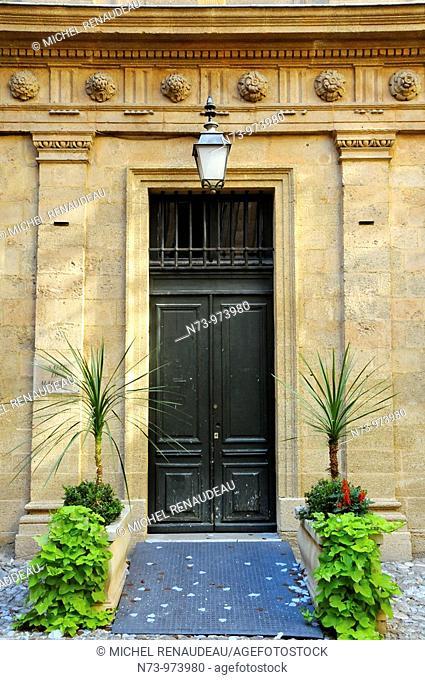 France, Bouches-du Rhône, Aix en Provence, Hotel de Ville
