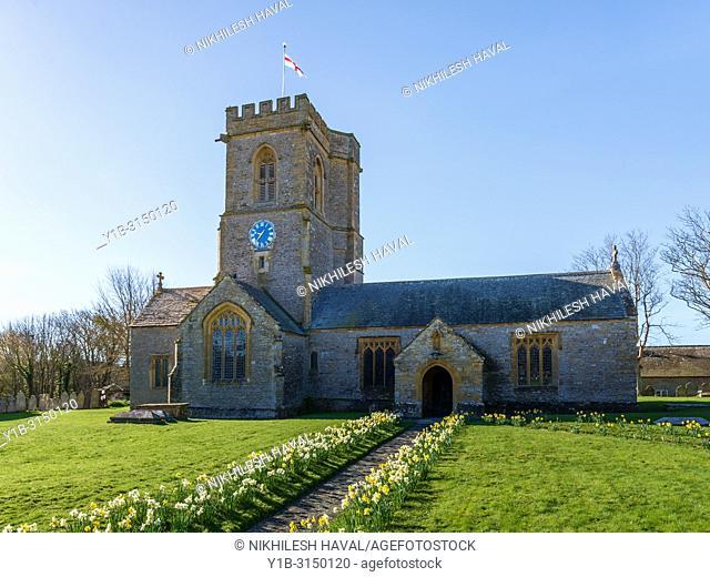 St. Mary's Church, Burton Bradstock, Dorset, UK