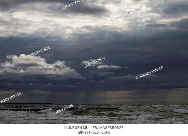 Baltic Sea, Wustrow, Bay of Mecklenburg, Mecklenburg-Western Pomerania, Germany