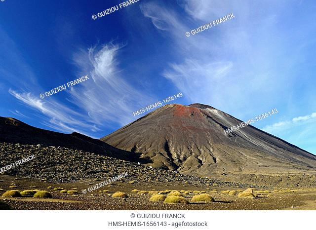 New Zealand, North island, Tongariro National Park listed as World Heritage by UNESCO, is the first national park in New Zealand and the fourth to emerge...