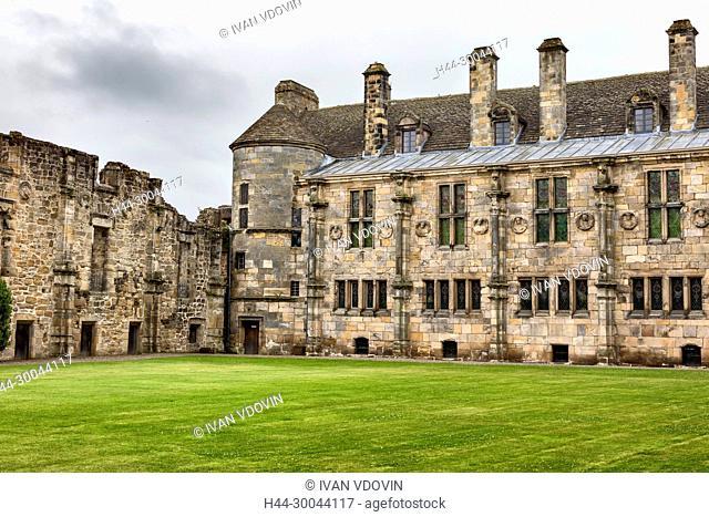 Falkland palace, Fife, Scotland, UK