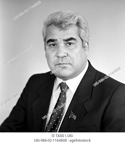 Saparmurad Niyazov At The XxvII Congress Of The Cpsu