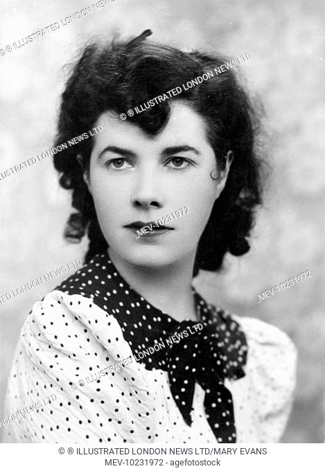 Christina Foyle (1911-1999) English bookseller and owner of Foyle's bookshop, she set up and ran the Foyle's literary luncheons