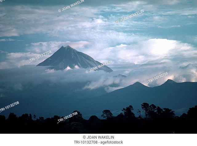 North Island New Zealand Mount Egmont Volcano