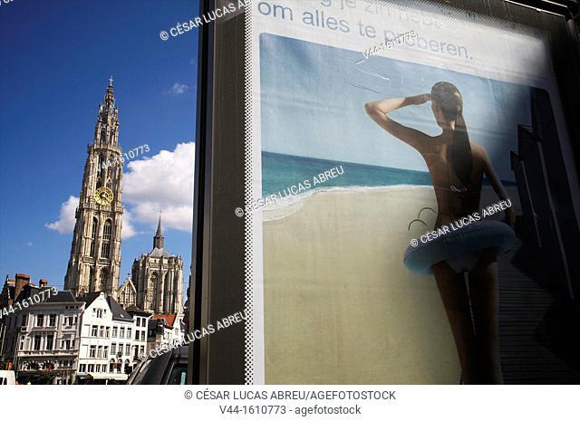 Cathedral, Antwerp. Flanders, Belgium