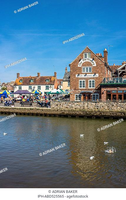 England Dorset Wareham The River Frome
