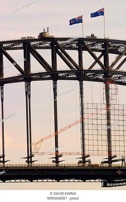 The Sydney Harbour Bridge, Australia