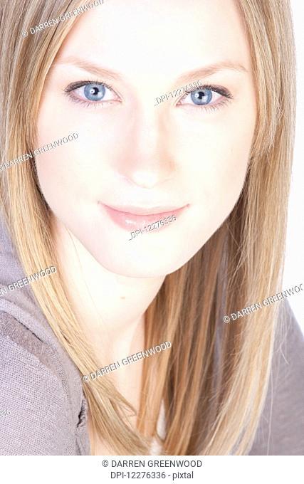 Portrait of a young woman; Edmonton, Alberta, Canada