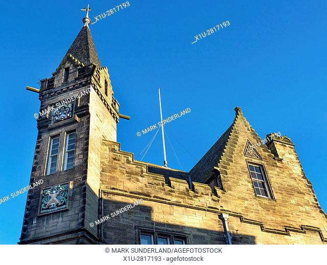 The town Hall at St Andrews Fife Scotland