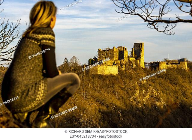 Ruins of Cornstejn, Czech Republic