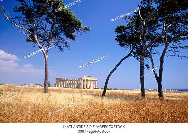 Selinunte. Sicily. Italy