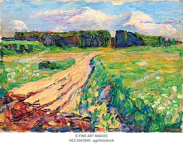 Planegg I. Landscape near Munich, ca 1901
