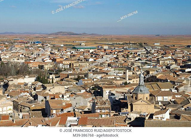 Consuegra. Toledo province, Spain