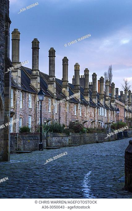 Vicarage Close Wells Somerset England