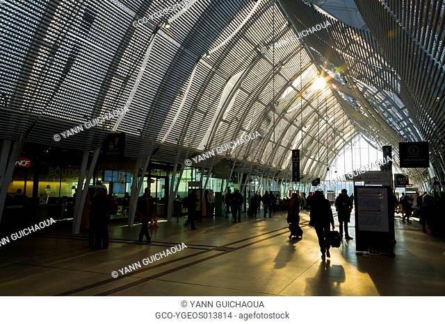 New Station Building, Montpellier,Herault,Languedoc-Roussillon,France