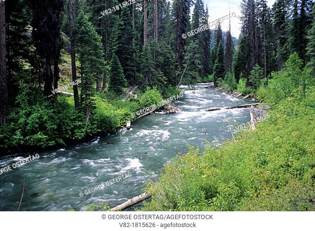 Imnaha Wild and Scenic River, Hells Canyon National Recreation Area, Oregon