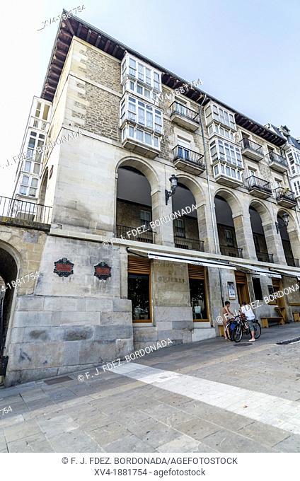 Vitoria city, European Green Capital, Basque country, Spain
