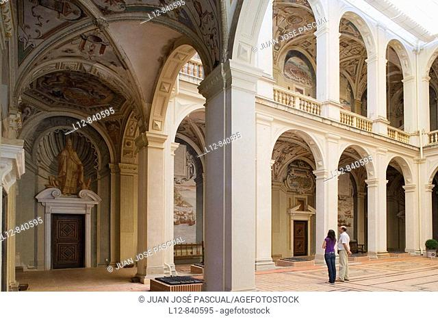 Palacio del Marqés de Santa Cruz Archivo General de la Armada El Viso del Marqués, provincia de Ciudad Real, Castilla la Mancha, Spain