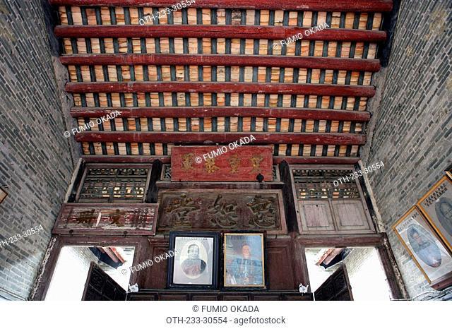 Ancestor hall at Tsang's House, Shatin, Hong Kong