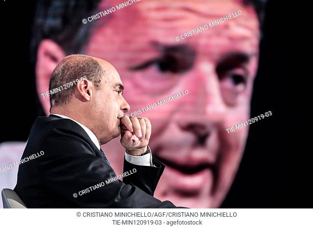 Porta Tv Lazio.Zingaretti 9 10 2019 Newsworthy Images At Age Fotostock