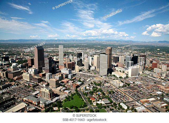 Arapahoe Square and Uptown districts near downtown Denver